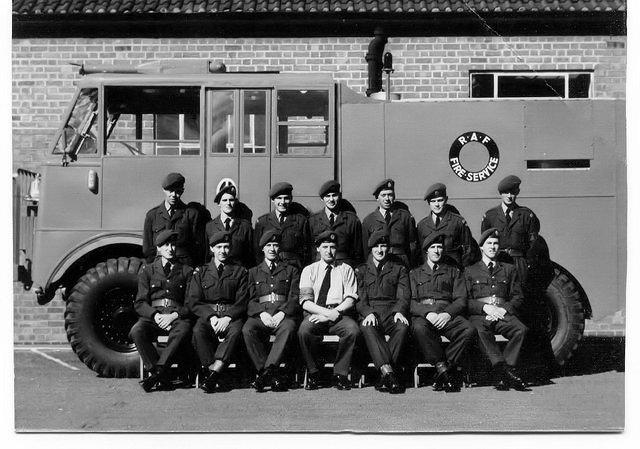 Basic_Fire_Fighting_Course_RAF_Catterick_1960