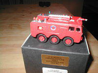 MODEL OF A RAF MK 6 CRASH TENDER