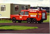 Bob's gallery of fire appliance's during RAF and ARFFS career.3rd July 1967 - 6th February 2008