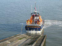Recovering The Mumbles Lifeboat 2