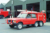 RAF Fire Sections, 1990's