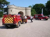Emergency Services Day Eastnor Castle, Herefordshire