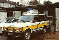 police ambulance range rovers