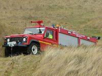 3 axle Land Rover fire tenders
