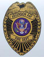 Ascension Auxilary Air Field Fire Department shield